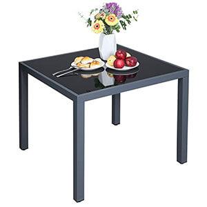 Meilleure table de jardin aluminum pour 4 personnes