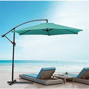 Meilleur parasol déporté résistant au vent