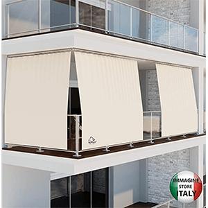 rideau pour balcon extérieur