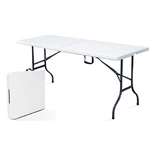 Table jardin pliable aluminium