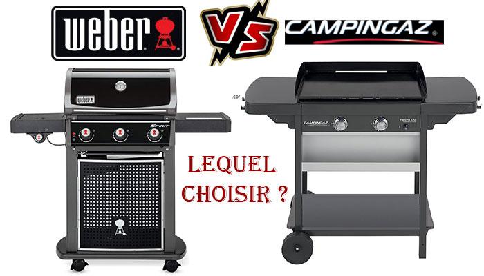Barbecue Weber ou campingaz, lequel choisir ?